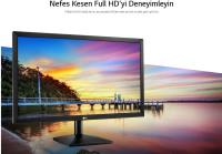 LG 24'' 24MK400H 1 Ms 75Hz HDMI D-Sub Full HD FreeSync Siyah Oyun Monitörü