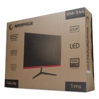 23.8 RAMPAGE RM-344  Led 144Hz VGA+2HDM+DP Oyuncu monitoru