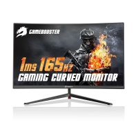 27 GAMEBOOSTER GB-2779CF CURVED 1ms 165Hz DP+HDMIx2 Gaming Monitor