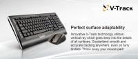 A4 TECH A4 Tech 9300F Q Tr 2.4Ghz Multimedya Klavye+V-Track