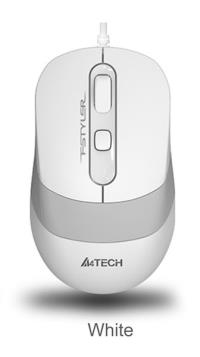 A4 TECH FM10 USB FSTYLER BEYAZ OPTİK 1600DP KABLOLU USB MOUSE