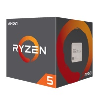 AMD RYZEN 5 2600 3.9GHz 65W Wraith Cooler AM4+