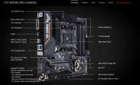 ASUS AMD TUF B450M-PRO GAMING  AM4 HDMI DDR4