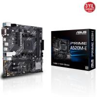 ASUS PRIME A520M-E DDR4 AM4 M2 PCIe NVME   Anakart