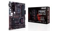 ASUS Prime B350-PLUS AMD B350, Ryzen AM4 Socket 3200Mhz OC