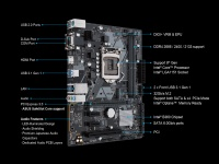 ASUS PRIME B360M-D INTEL B360 LGA1151 DDR4 2666 HDMI VGA M2 USB3.1 COM PCI MATX