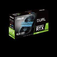 ASUS RTX2060 6GB GDDR6 192BIT DP/2xHDMI/DVI (DUAL-RTX2060-6G-EVO)