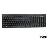 AVEC AV-KB8003F USB F KABLOLU SİYAH KLAVYE