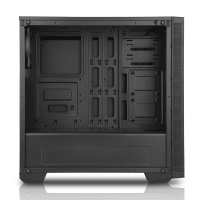 BOOST Power Boost VK-G1007B USB 3.0 Tempered Glass Pencereli Mavi Fanlı Gaming Kasa (PSU Yok)