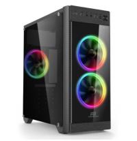 BOOST VK-C013B 500W USB 3.0 ATX 3XRGB (5 RENK) FANLI KASA    POWER BOOST