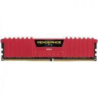 CORSAIR VENGEANCE LPX RED 8GB 2400Mhz DDR4 CL16 Pc Ram CMK8GX4M1A2400C16R