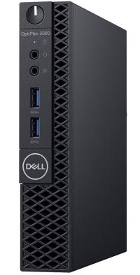 DELL PC OPTIPLEX N002O3060MFF 3060MFF I3-8100T 4GB 500GB  UBUNTU küçük mini kasa