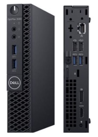 DELL PC OPTIPLEX N002O3060MFF 3060MFF I3-8100T 4GB 500GB  UBUNTU küçük mini kasa