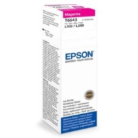 EPSON T6643 KIRMIZI MÜREKKEP KARTUŞU ( C13T66434A )