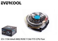 EVERCOOL CS-1156 775/1150/51/55/56/AMD FAN