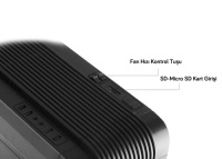 EVEREST ARES-X1 750W SİYAH USB 3.0 12cm Led Fanlı Kasa