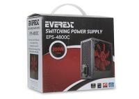 Everest Eps-4800C Peak-300W 3*Sata 6+4 Pın 12Cm Fanlı Kutulu Power Supply