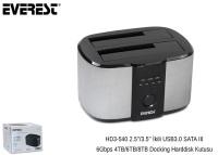 "EVEREST HD3-540 USB 3.0 2li 2,5""/3,5""Dock Station"