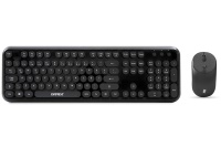 Everest ROUND KM-6282 Siyah Kablosuz Q Multimedia Klavye + Mouse Set