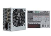 Eyfel EFS-2500 Real 200W Peak 250W( Kutusuz)12cm Fanlı 2*Sata Power Supply