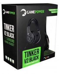 GAMEPOWER TINKER V2 SİYAH 7.1 TİTREŞİMLİ GAMING KULAKLIK