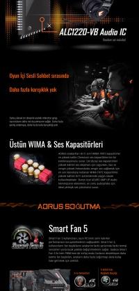 Gigabyte B450 Aorus Pro AMD B450 Soket AM4 DDR4 3200(O.C.)Mhz ATX Gaming(Oyuncu) Anakart