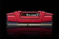 GSKILL RIPJAWSV KIRMIZI  F4-3000C16S-8GVRB 8GB DDR4-3000Mhz CL16 SINGLE (16-18-18-38) 1.35V