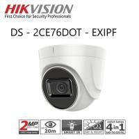 Hikvision DS-2CE76DOT-EXIPF Kamera CCTV 2mp Indoor Garansi Resmi  DS-2CE76D0T-EXIPF