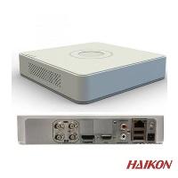 HAIKON DS-7104HGHI-F1 4 KANAL 720P HD-TVI / analog ve AHD kameraları destekler • 1080P lite çözünürlüğe kadar tam kanal