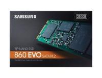 SAMSUNG 860 Evo 250GB SSD M.2 550/500 MZ-N6E250BW