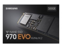 Samsung 970 Evo 500GB 3400MB/2300MB/s NVMe M.2 SSD Disk - MZ-V7E500BW