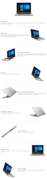 "HP 340S G7 9HR36ES i5-1035G1 8GB 256GB SSD 14"" Free Dos Dizüstü Bilgisayar"