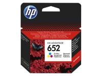 HP 652 RENKLİ MÜREKKEP KARTUŞU ( F6V24AE )