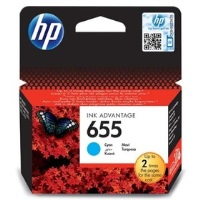 HP CZ110AE (655) Mavi Mürekkep Kartuş Deskjet 5525 Modeli Kartuş