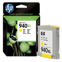 HP 940XL YÜKSEK KAPASİTELİ SARI MÜREKKEP KARTUŞU(C4909AE)