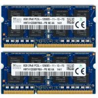 Hynix HMT41GS6BFR8A-PB 8GB DDR3-1600 Mhz PC3L 12800 1.35v 16 Çip Notebook Ram