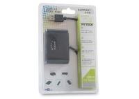 Hytech HY-USBC6 USB3.0HUB3+1Patent Siyah USB 2.0
