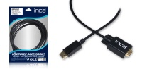 Inca Idpv-18T Displayport To Vga Kablo 1.8 Mt  DISPLAY TO VGA