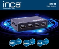 INCA IHC-04 4 PORT 1080P V1.4 HDMI SPLITTER