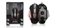 INCA IMG-317 EMPOUSA METAL BASE 8D REMOVABLE WEIGHT SOFTWEAR GAMİNG MOUSE