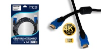 INCA IMHD-30T Altın Uç HDMI Kablo 3mt  3 Metre hdmı kablo