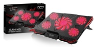 INCA INC-611 GMS ARRAX GAMING NOTEBOOK SOĞUTUCU 5X FAN , 6 KADEMELİ ,2X USB