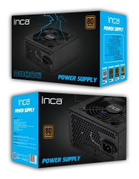 INCA IPS-065 650W 80+ PLUS POWER SUPPLY