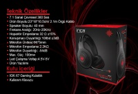 INCA LAPESTOS IGK-X7 7.1 SURROUND GAMING KULAKLIK