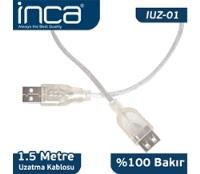 INCA USB to USB Uzatma Kablo 1.5MT IUZ-01