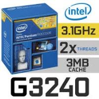 INTEL PENTIUM G3240 3.10GHZ 3MB 1150P TRAY+ORJ FAN