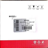 JETVIEW JT-2643 2MP 3.6MM 6 ATOM LEDLİ  DOME KAMERA