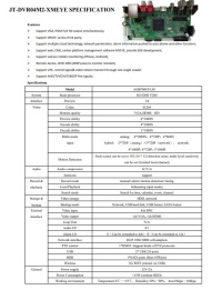 JETVIEW JT-DVR04M2-XMEYE 4 KANAL 1080N 4SES ANALOG 1MP 2MP  KADAR DESTEĞE SAHİP
