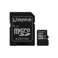 KINGSTON SDCS/16GB  16GB MICRO SD KART ADAPTORLU CLAS10