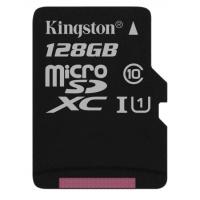 KINGSTON 128GB MICRO SD ADAP Class10 80mb/10mb